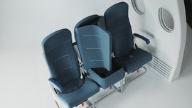 Travel technology company develops social distance middle seat designs for plane travel during pandemic