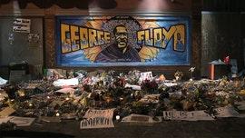 George Floyd memorials in photos