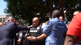 Pastor calls for end to riots, says church is answer to healing racial divide