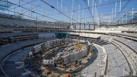Construction worker dies after falling more than 100 feet from Chargers, Rams new stadium: report