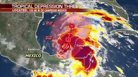 Tropical depression forms in Gulf of Mexico, 'life-threatening' rain for south Mexico, Central America