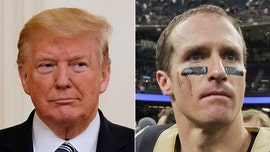 Trump criticizes Saints' Drew Brees after apologizing for stance on kneeling during the national anthem