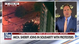 Michigan sheriff recounts marching with Floyd protesters: 'They wanted a voice to listen to'