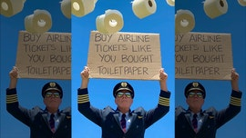 Airline captain asks people to 'buy airline tickets' like they 'bought toilet paper'