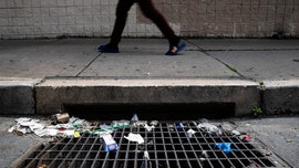 Coronavirus wipes, masks a nightmare for storm drains, sewers