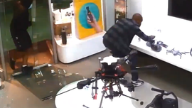 NYC looters caught on video stealing $16,000 worth of drones
