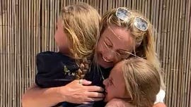 Coronavirus: Health care worker surprises daughters after 9 weeks apart amid pandemic