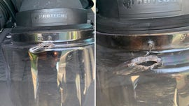 Bullet penetrates Missouri trooper's face shield during riots in St. Louis, 'narrowly' avoids serious injury