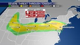 Severe weather threat for 83 million from Midwest to Northeast, 'damaging' winds possible