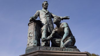 Rep. Waltz on Lincoln statue being targeted: Cancel culture has become 'ignorant culture'