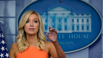McEnany says Trump will accept results of a 'free and fair election,' as Democrats slam president's comments