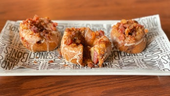 Smokey Bones creates extreme bacon doughnut for Doughnut Day: 'A love letter to our meat-obsessed guests'