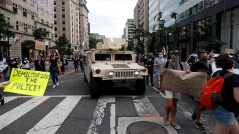 900 active duty military police sent to DC area for protests are being sent home Friday