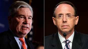 Sen. Whitehouse slams Rosenstein for lack of transparency at DOJ: 'It is someone's policy, and I want it stopped'