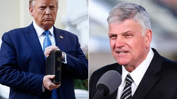 Franklin Graham not offended by Trump's Bible photo, slams other clergy