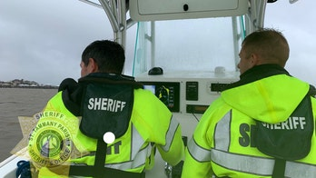 Louisiana boaters found alive after vessel sank during Tropical Storm Cristobal; pair clung to life jacket overnight