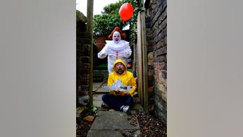 Couple dresses as favorite TV and movie characters during lockdown, recreates 'Tiger King,' 'Star Wars,' 'It'