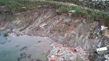 Norway landslide sweeps 8 houses into sea, dog swims to safety