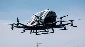 'Flying taxi' drone that can travel at 80 miles per hour shown off in China