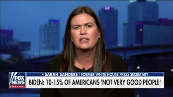 Sarah Sanders hits back at Biden: He shows every day that he's not the person to unite America