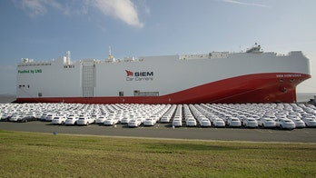 Volkswagen launches world's largest low-emissions LNG car transport ship