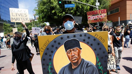 LAPD bans use of chokeholds as nation evaluates police reforms amid anti-brutality protests