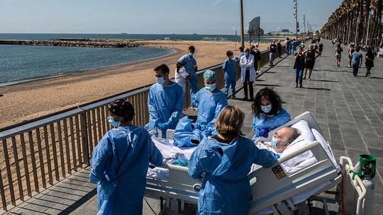 Doctors in Spain provide beach trip for recovering coronavirus patients, report says