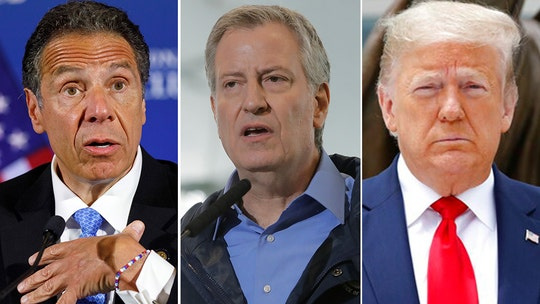 Hannity calls out Cuomo, de Blasio over riots: 'Yourpolice are under attackin your state and your city'