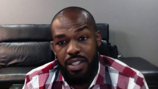 UFC star Jon Jones goes viral for confronting vandals: 'Whattype of person are you going to be?'