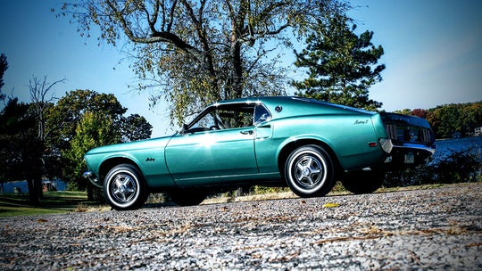 Before the Mustang Mach-E, the rare 1969 Mustang E was Ford's efficient pony car