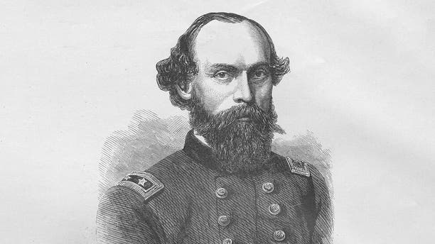General Gordon Granger, 1861. From an issue of Frank Leslie's Illustrated Almanac. (Photo by Buyenlarge/Getty Images)