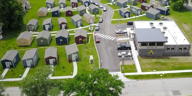 The Veterans Community Project has built a village of transitional homes and services for veterans in Kansas City.
