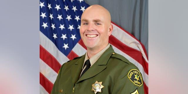 Sgt. Damon Gutzwiller, 38, was a 14-year veteran of the Santa Cruz County Sheriff's Office. (Santa Cruz County Sheriff's Office)