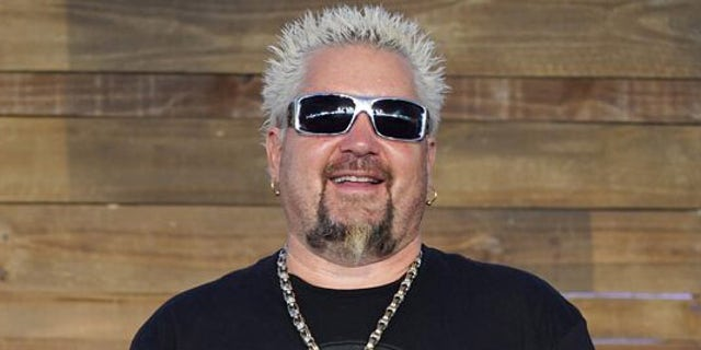 Guy Fieri signed a new three-year contract with the Food Network. (Getty Images)