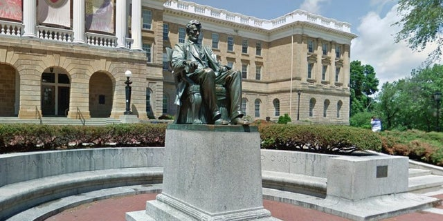 Some students at the University of Wisconsin-Madison are calling for a statue of Abraham Lincoln on campus to be removed.