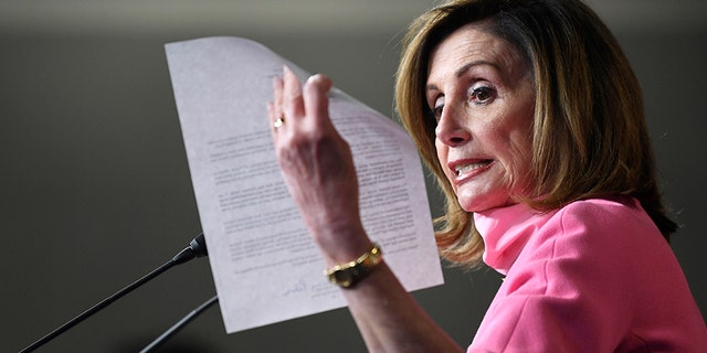 Pelosi demands answers from Trump on troops patrolling protesters in DC