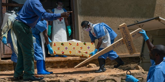 The World Health Organization on Thursday, June 25, 2020, has declared an end to the second-deadliest Ebola outbreak in history, that killed 2,280 people over nearly two years. (AP Photo/Jerome Delay, File)