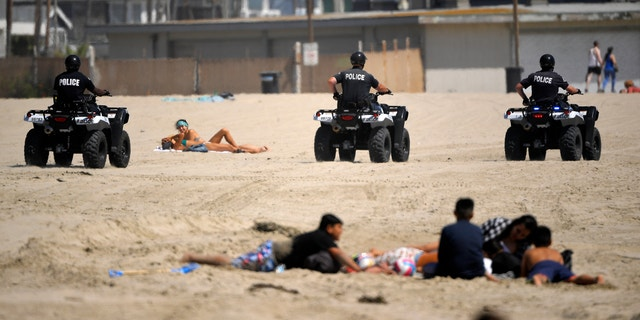 LA Sheriff Says He Won't Enforce July Fourth Beach Closures