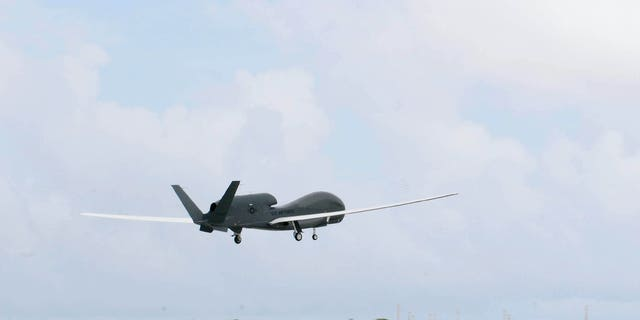 An RQ-4 Global Hawk takes off Oct. 7, 2010 from Andersen Air Force Base, Guam - file photo. (U.S. Air Force photo/Senior Airman Nichelle Anderson)