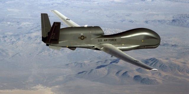 An RQ-4 Global Hawk - file photo.