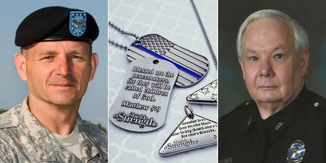 Westlake Legal Group Army-Vet-Dallas-Police1 Point 27 honors police, families of fallen officers with Bible verse dog tags fox-news/us/us-protests fox-news/us/personal-freedoms/proud-american fox-news/us/military/army fox-news/us/dallas-fort-worth fox-news/us/crime/police-and-law-enforcement fox news fnc/us fnc ff783892-6f5c-514b-a8cf-94a8429cb252 Caleb Parke article
