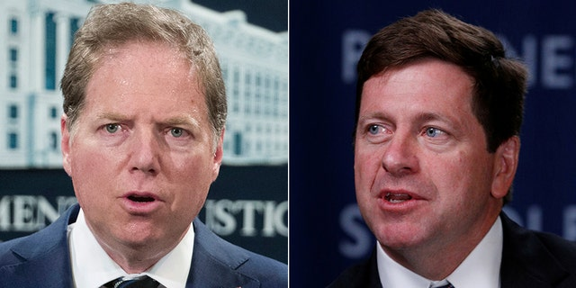 Geoffrey Berman (left) and Jay Clayton (right)