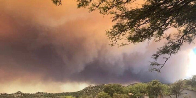 The Bighorn Fire burning in the Coronado National Forest near Tucson has grown to some 23,892 acres and was at 40 percent containment as of Thursday.