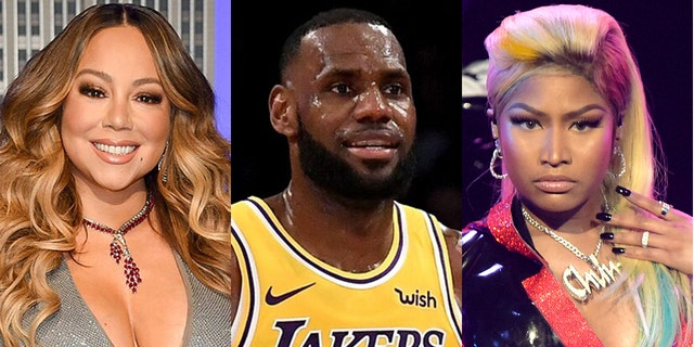 Hackers have threatened to release information about Mariah Carey, LeBron and Nicki Minaj.