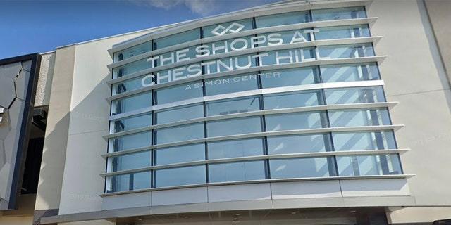 Chestnut Hill mall in Massachusetts (Google)