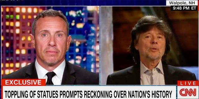 Documentary filmmaker Ken Burns on CNN.