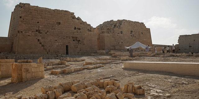 The temple at Taposiris Magna