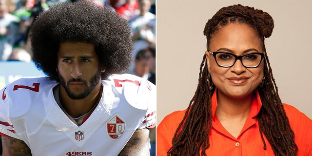 Colin Kaepernick (L) and Ava DuVernay (R)
