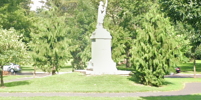 The New Jersey city of Camden says its Christopher Columbus statue 'has long pained the residents of the community.' (Google Maps)