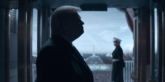 Brendan Gleeson as President Donald J. Trump in 'The Comey Rule.'